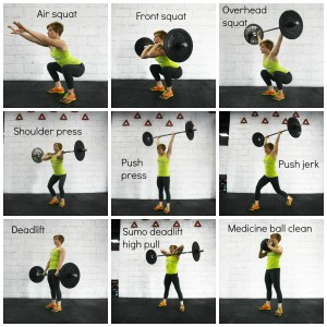 9 fundamentele bewegingen in CrossFit