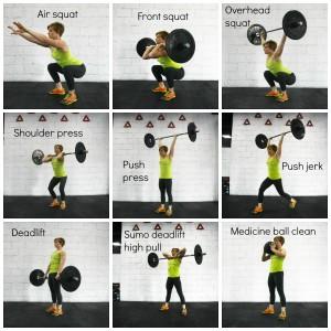 9 fundamentele bewegingen in CrossFit